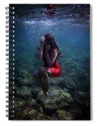 Sad Mermaid Spiral Notebook