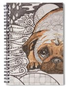 Sad Pup Spiral Notebook