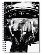 Saddle Bag Style Spiral Notebook
