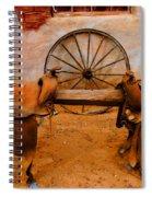 Saddle Town Spiral Notebook