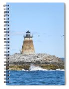 Saddleback Ledge Light Spiral Notebook