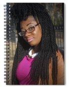 Sade Chilling Spiral Notebook