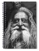 Sadhu  Spiral Notebook