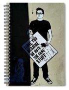 Sadic Spiral Notebook