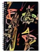 Saeta  Spiral Notebook