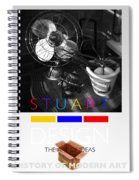 Safari Poster Spiral Notebook