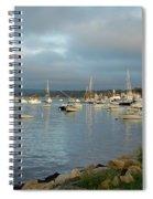 Safe Harbor - Plymoth Spiral Notebook