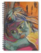 Safe In The Arms Of Grandma Spiral Notebook