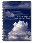 Safe Passage Spiral Notebook