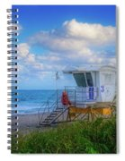 Safe Waters Spiral Notebook
