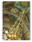 Sage Chapel Ceiling And Light Spiral Notebook