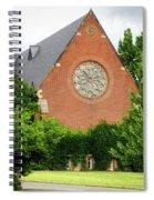 Sage Chapel Cornell University Ithaca New York 02 Spiral Notebook