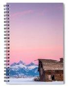 Saggy, Teton Valley, Barn Spiral Notebook