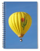 Saguaro Balloon Spiral Notebook