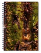 Saguaro Detail No. 21 Spiral Notebook