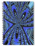 Saguaro Forest Abstract #2 Spiral Notebook