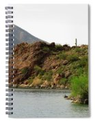 Saguaro Lake Shore Spiral Notebook