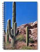 Saguaro National Monument Spiral Notebook