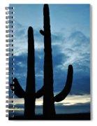 Saguaro Nights Spiral Notebook