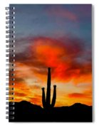 Saguaro Sunrise Spiral Notebook
