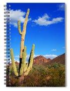 Saguaro Tree Spiral Notebook