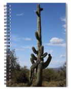 Saguaro With Extra Legs Spiral Notebook