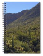 Saguaros And Other Greenery  Spiral Notebook