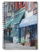 Sahadis Atlantic Avenue Brooklyn Spiral Notebook