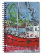 Saida Spiral Notebook
