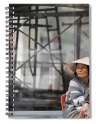 Saigon Lady Spiral Notebook