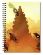 Siam Visage Spiral Notebook