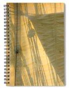 Sail And Shadows Spiral Notebook