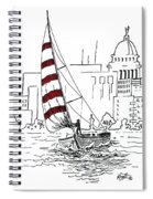 Sail Away Spiral Notebook