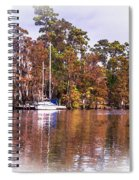 Sail Boat Spiral Notebook