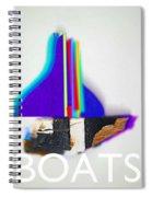 Sail Boats Spiral Notebook