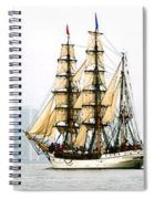 Europa And Adirondack Spiral Notebook