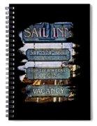 Sail Inn Spiral Notebook