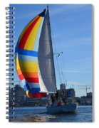 Sailboat In Seattle Spiral Notebook