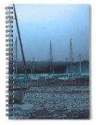 Sailboat Harbor Spiral Notebook