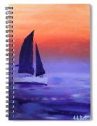 Sailboat Large 2015 Spiral Notebook