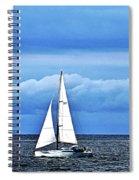 Sailboat No. 143-1 Spiral Notebook