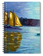 Sailboat-  Sailing- Come Sail Away Spiral Notebook