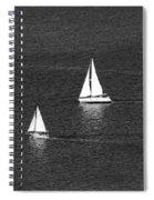 Sailboats 1 Spiral Notebook