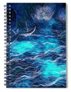 Sailboats In A Storm Spiral Notebook