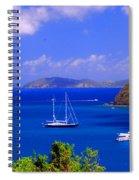 Sailboats In St. John's Spiral Notebook