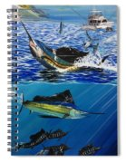 Sailfish In Costa Rica Spiral Notebook
