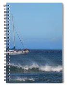 Sailing And Sunshine Spiral Notebook