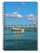 Sailing At St Josephs Spiral Notebook