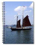 Sailing Boston Spiral Notebook