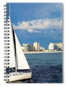Sailing Destin, Fl Spiral Notebook